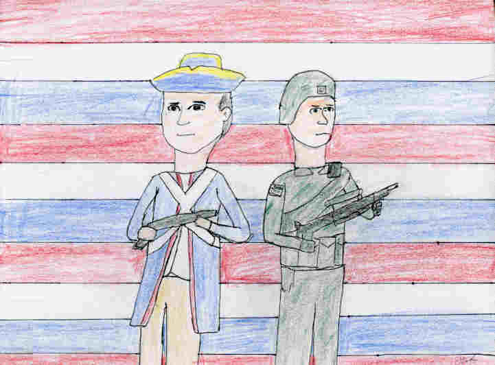 soldiers past and present essay