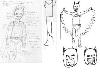 Reconstructed Batman design