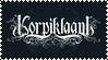 korpiklaani stamp by zomestamp