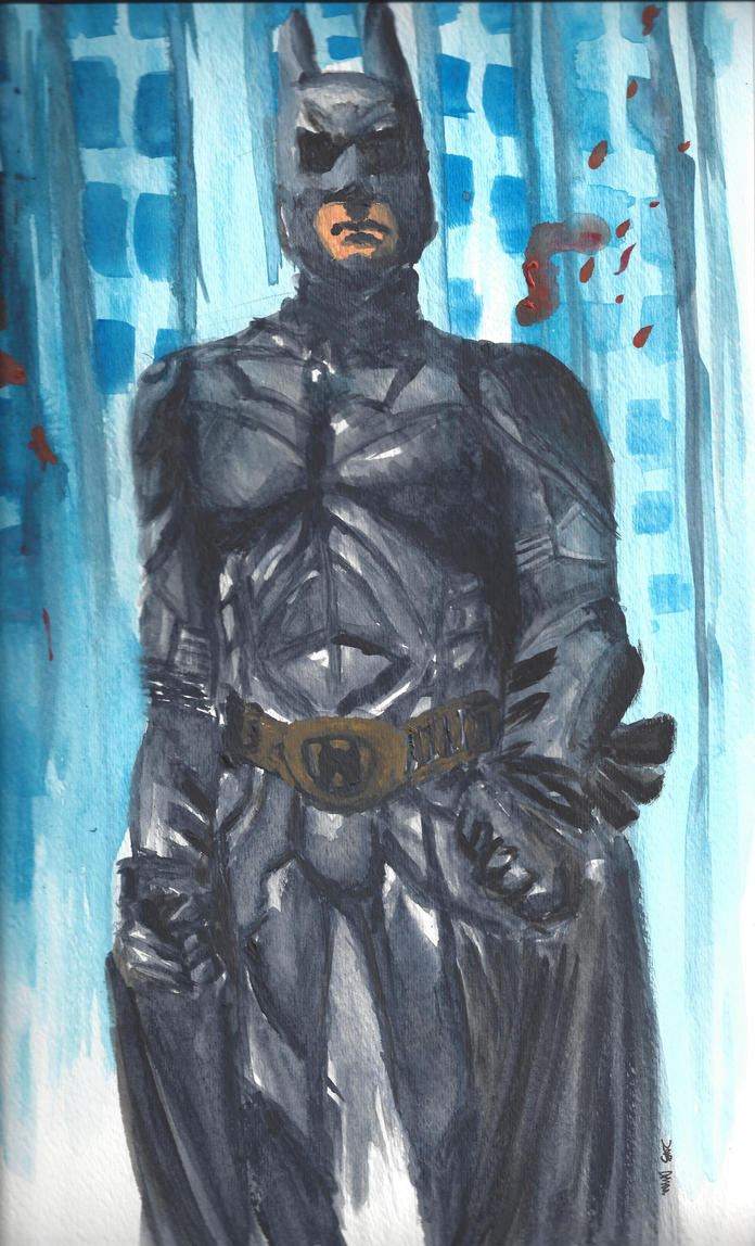 The Dark Knight by HumbledByKindness