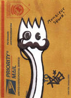 Monsieur Spork by octofinity