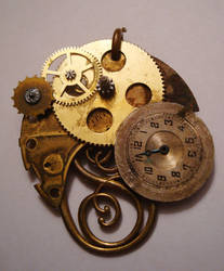 Steampunk Charm by octofinity