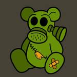 Gas Mask Teddy Bear