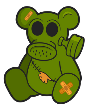 Toxic Teddy - A Post-Apocalyptic Toy