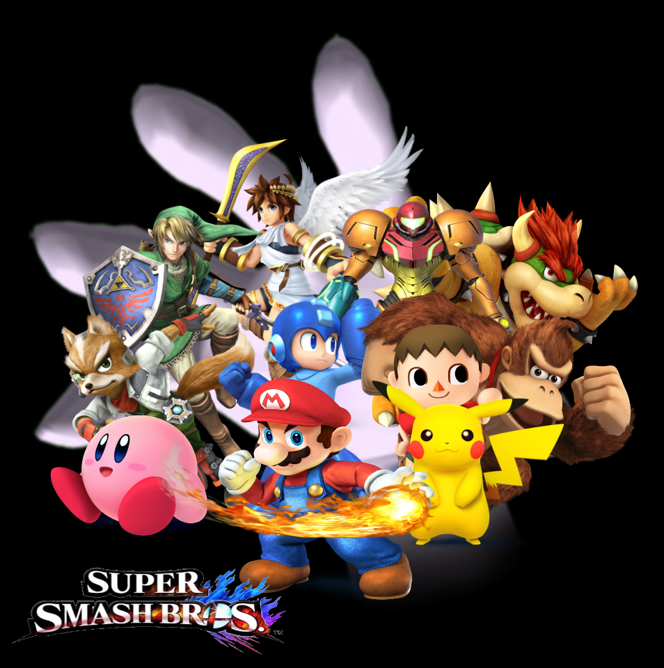 4 Wallpaper By Silverdahedgehog06 Super Smash Bros