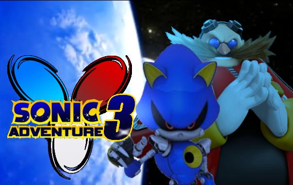 Sa3 Eggman And Metal Sonic Wallpaper By Silverdahedgehog06 On Deviantart