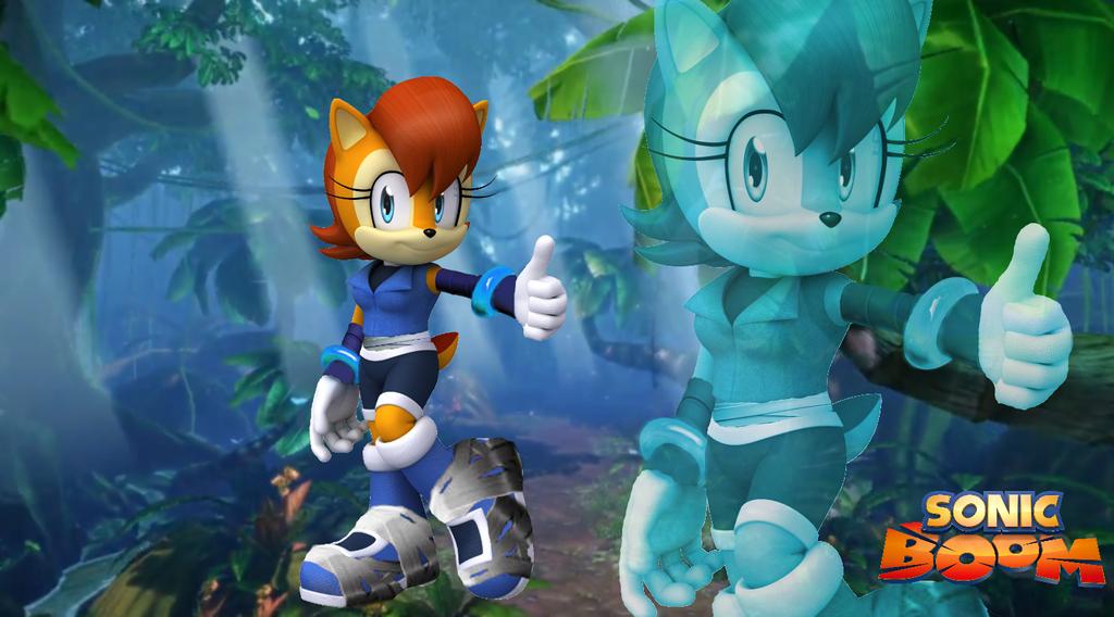 Sonic Boom Sally Wallpaper by Silverdahedgehog06