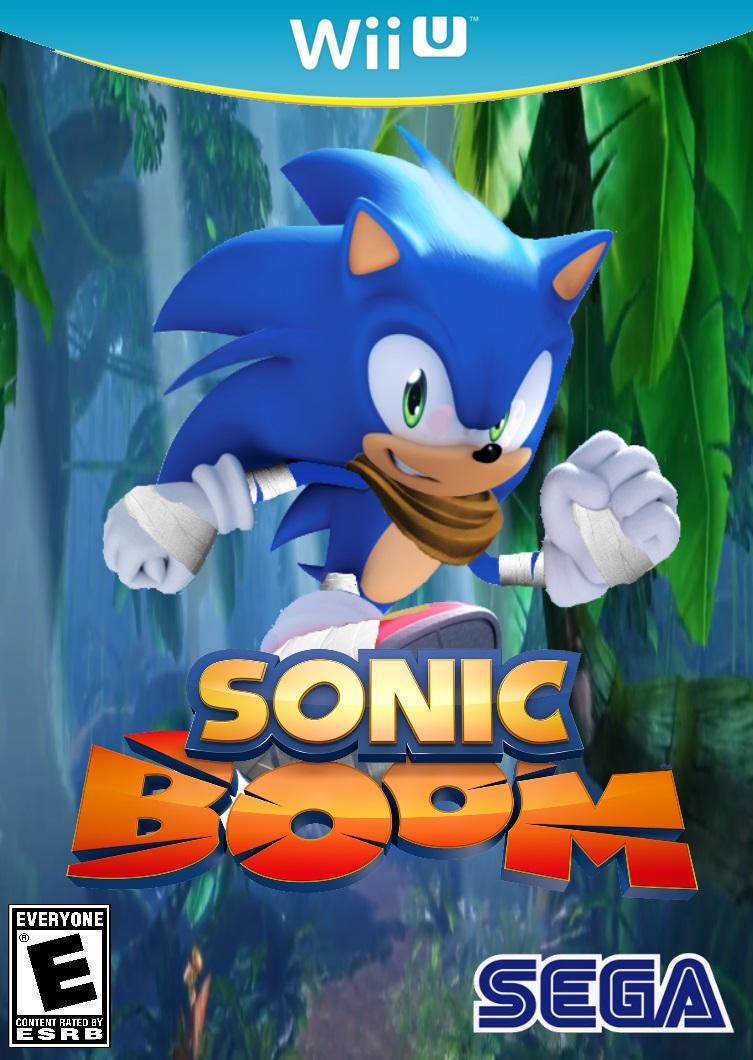 Sonic Boom Wii U Box Art by Silverdahedgehog06