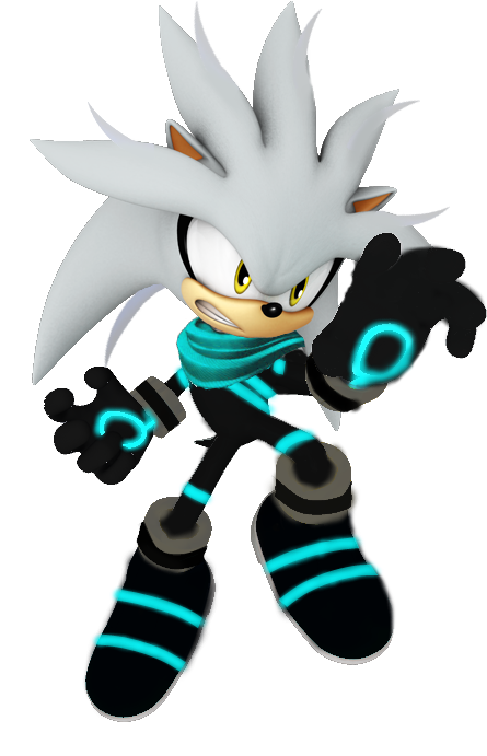 Silver The Hedgehog Sonic Boom