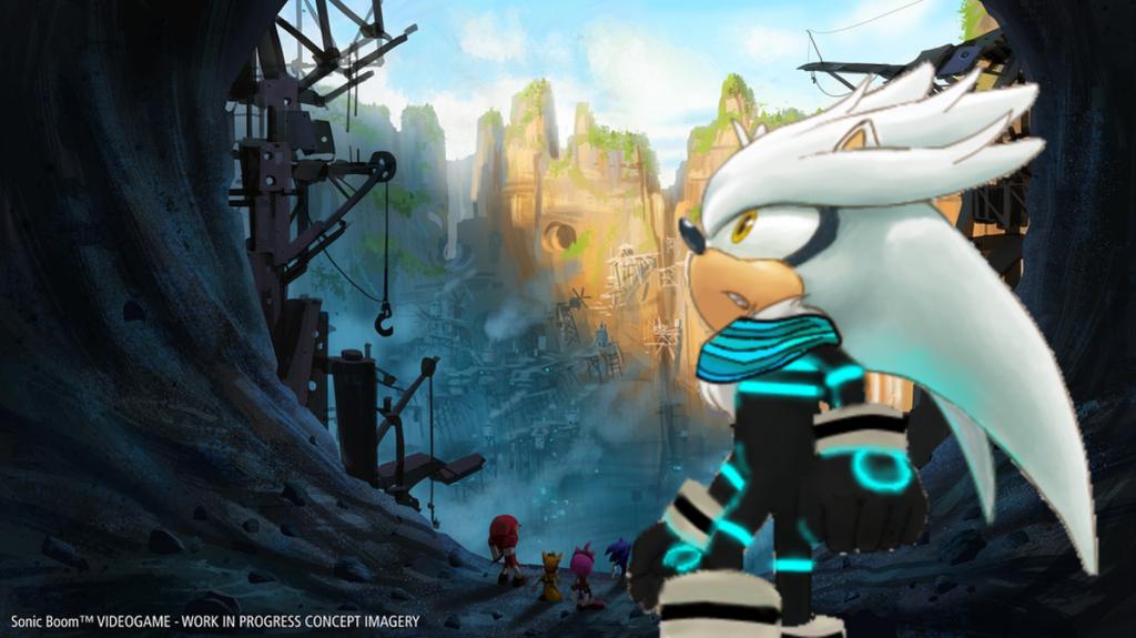 Sonic Boom Silver Wallpaper By Silverdahedgehog06
