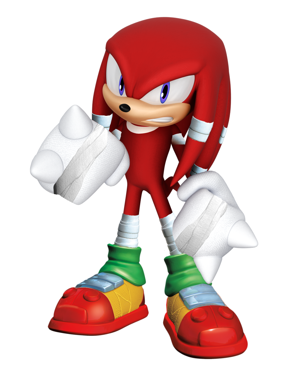 Knuckles Sonic Boom (My Style) by Silverdahedgehog06 on ...