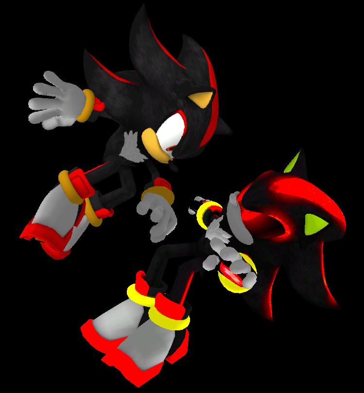 Shadow VS. Metal Shadow by Silverdahedgehog06 on DeviantArt