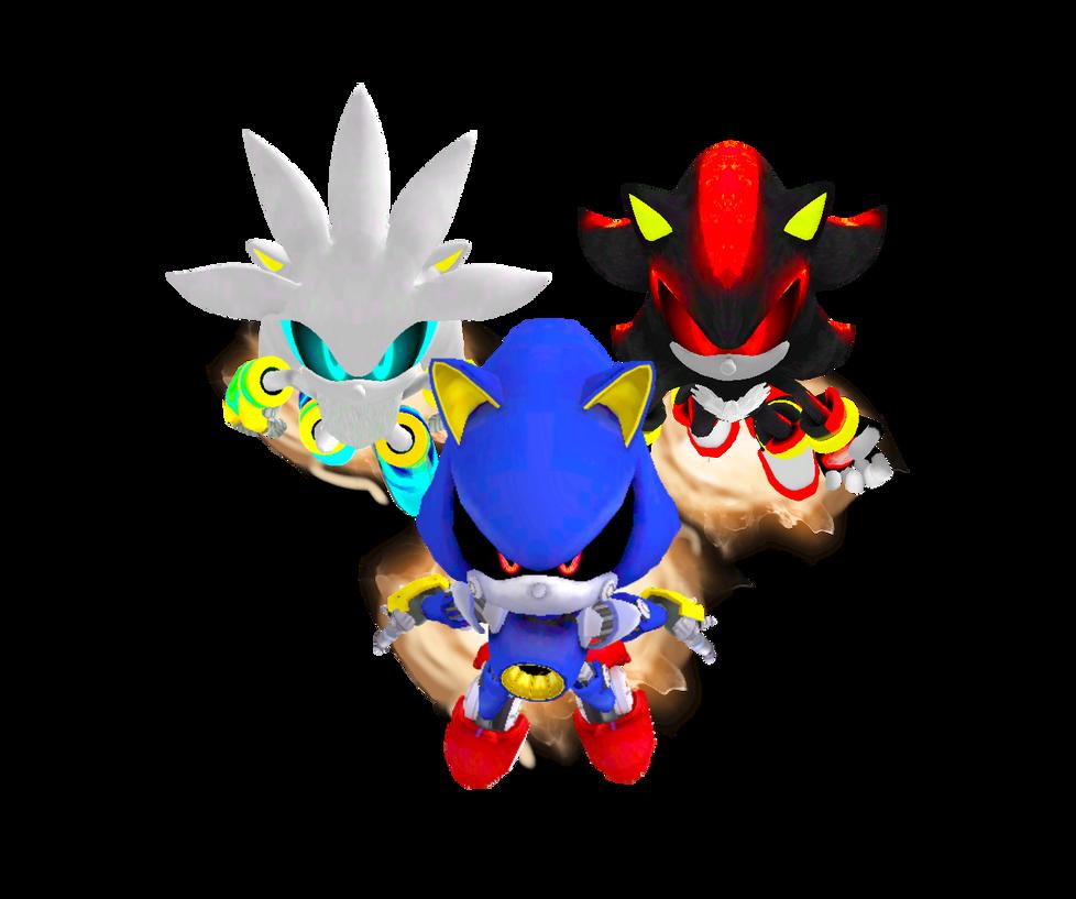 Metal Hedgehogs in Pursuit by Silverdahedgehog06