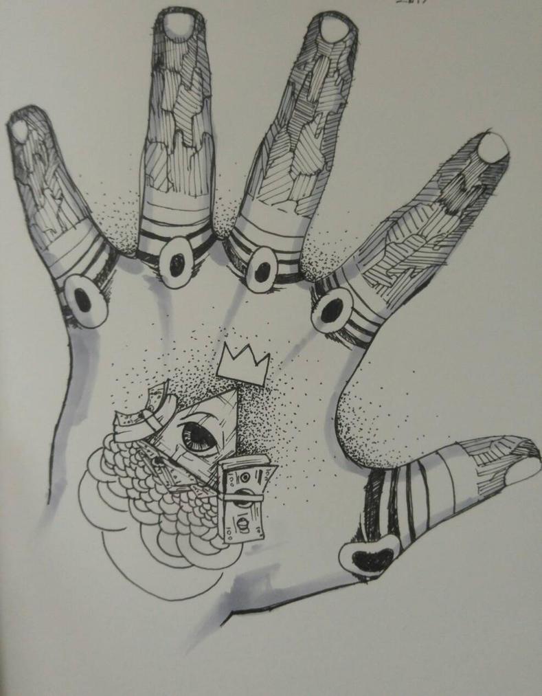 tattoo design - sketch by TsuRIL