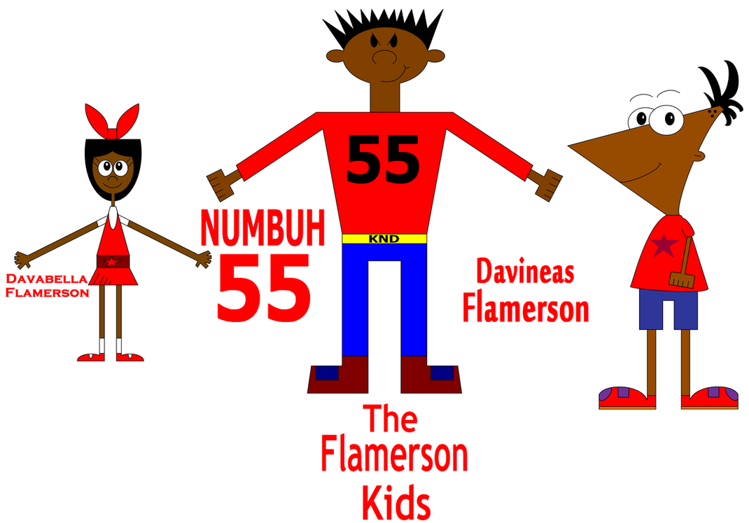 The Flamerson Kids Level 2 by Flame-dragon