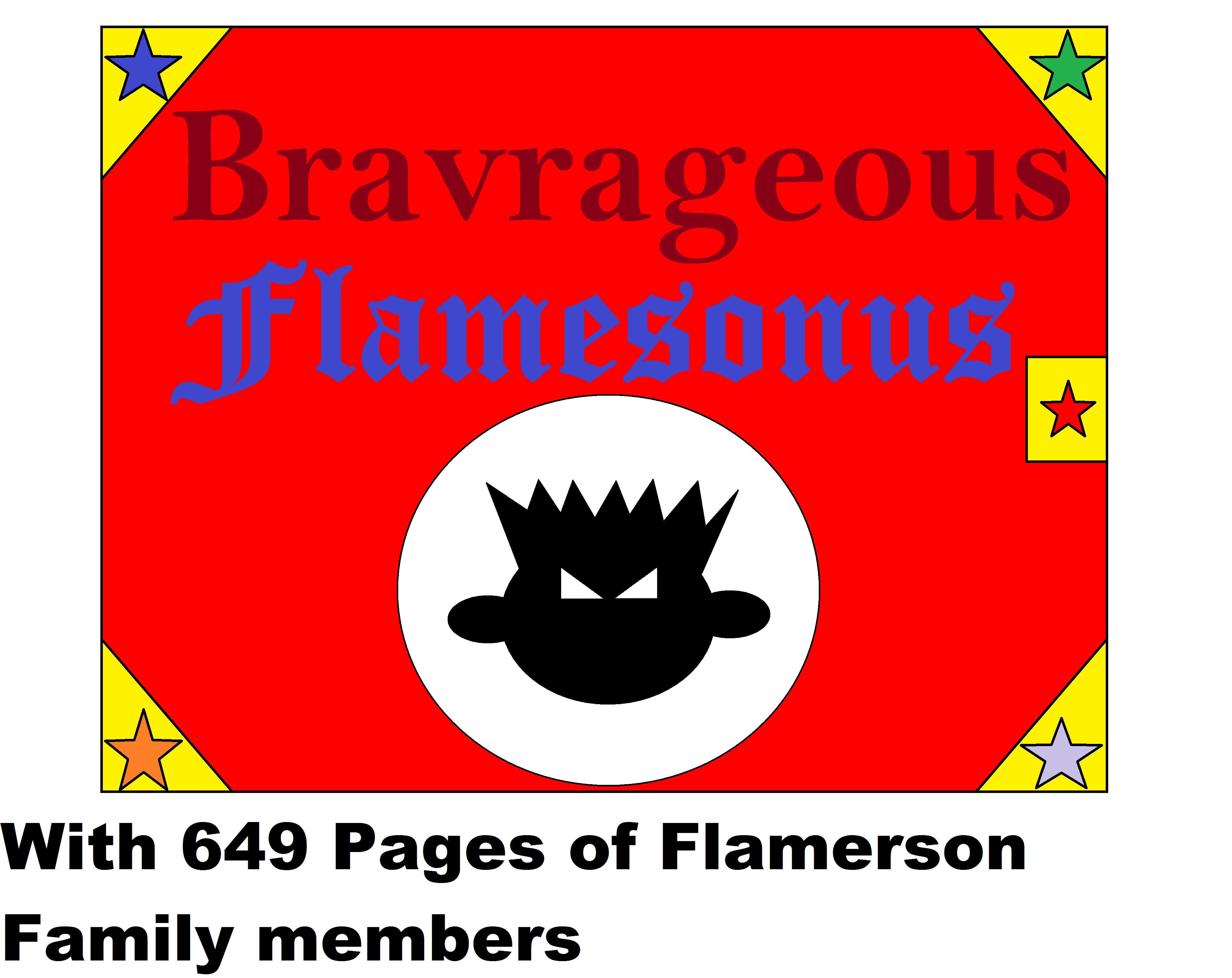 Bravrageous Flamesonus by Flame-dragon