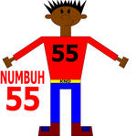 NUMBUH 55 by Flame-dragon