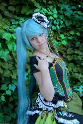 Vocaloid: Daughter of Green by wtfproductionsskits