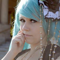 Vocaloid: Miku Portrait by wtfproductionsskits