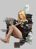 Library by Zamash