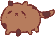 chocolate chip cookie cat by fancyfries