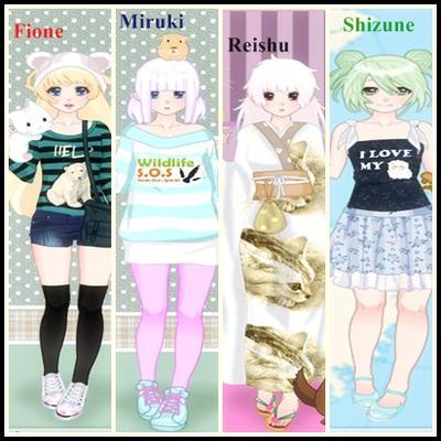 My Ideal OC's :3 by renamayuuki