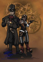 Steampunks! by DanaTrent