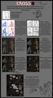 My Comic Process - Cross by DanaTrent