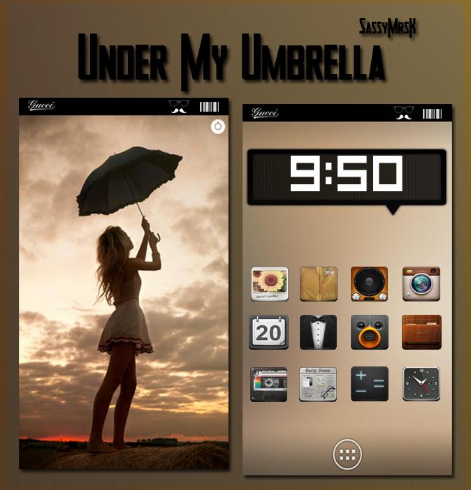 Under My Umbrella by SassyMrsK