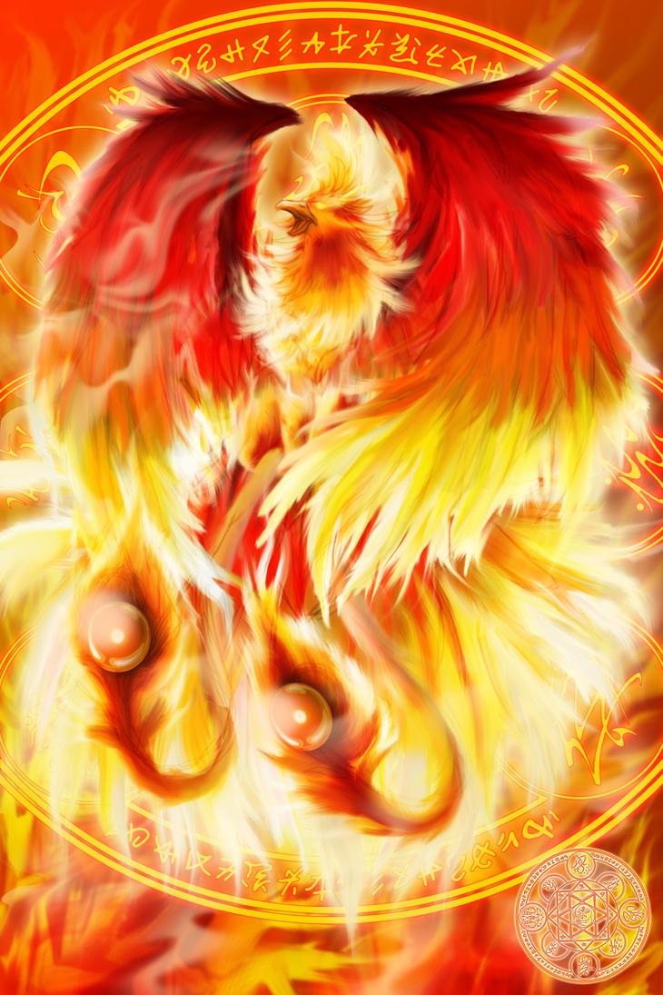 Fire Element Phoenix Summoner by ahyou1991 on DeviantArt