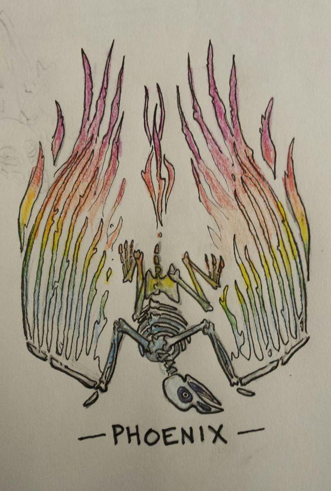 Phoenix by MidKnightFapper