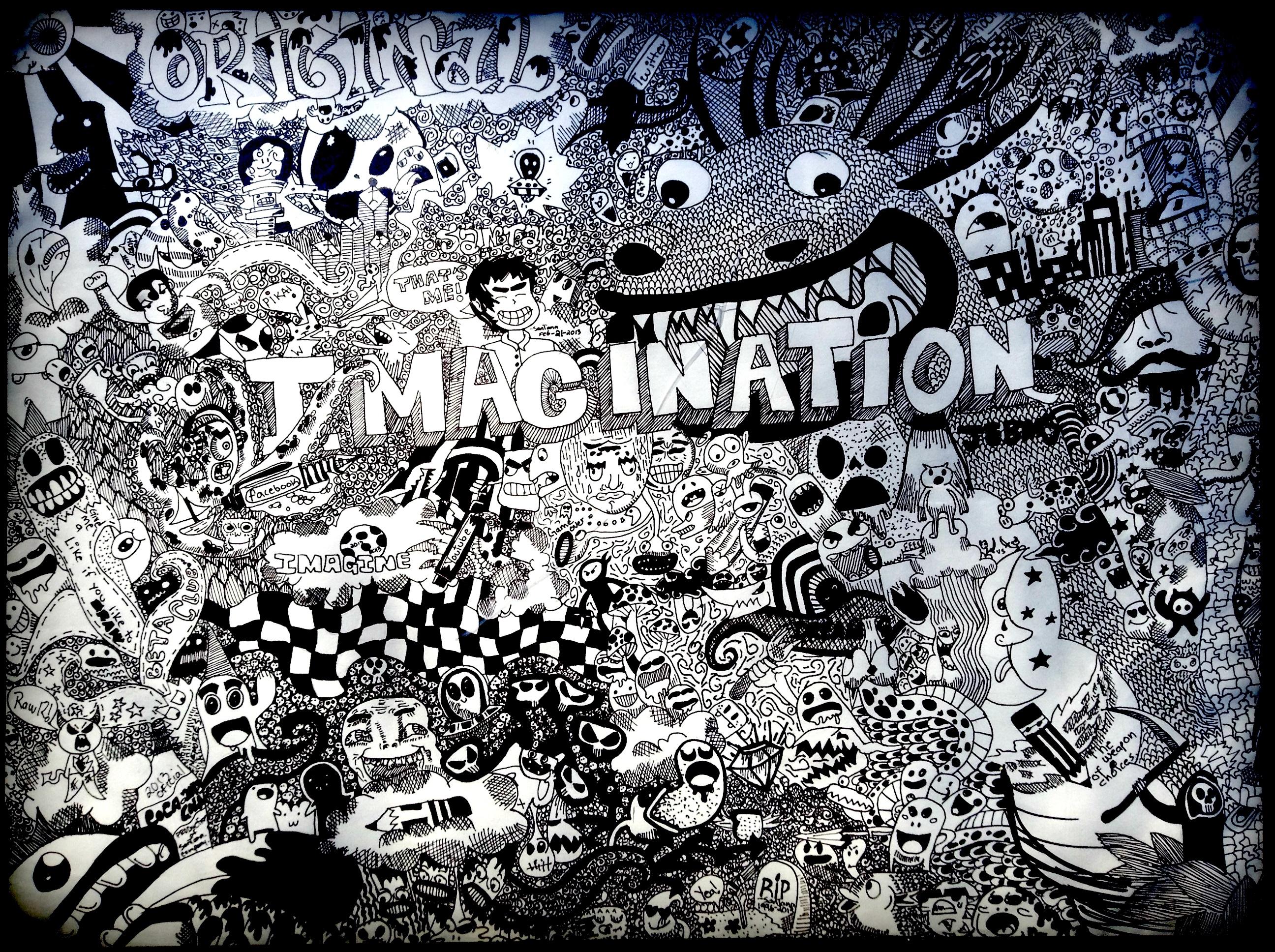 Imagination by Santanacruz