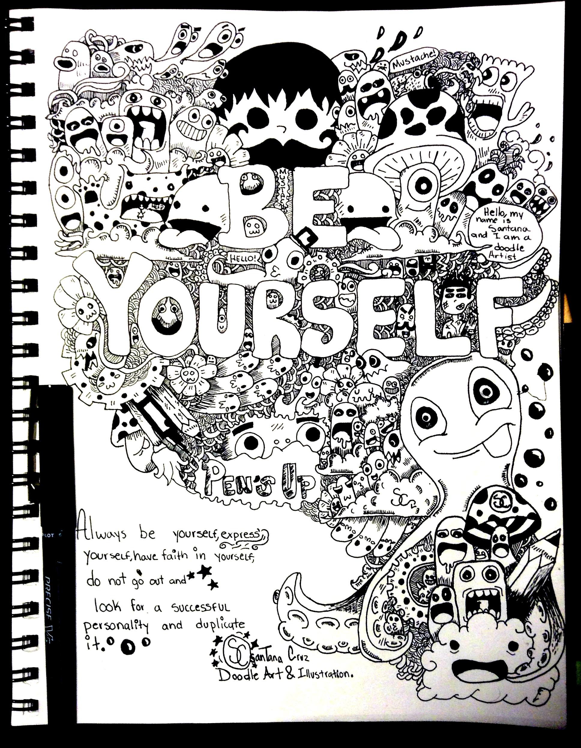 Be Yourself by Santanacruz