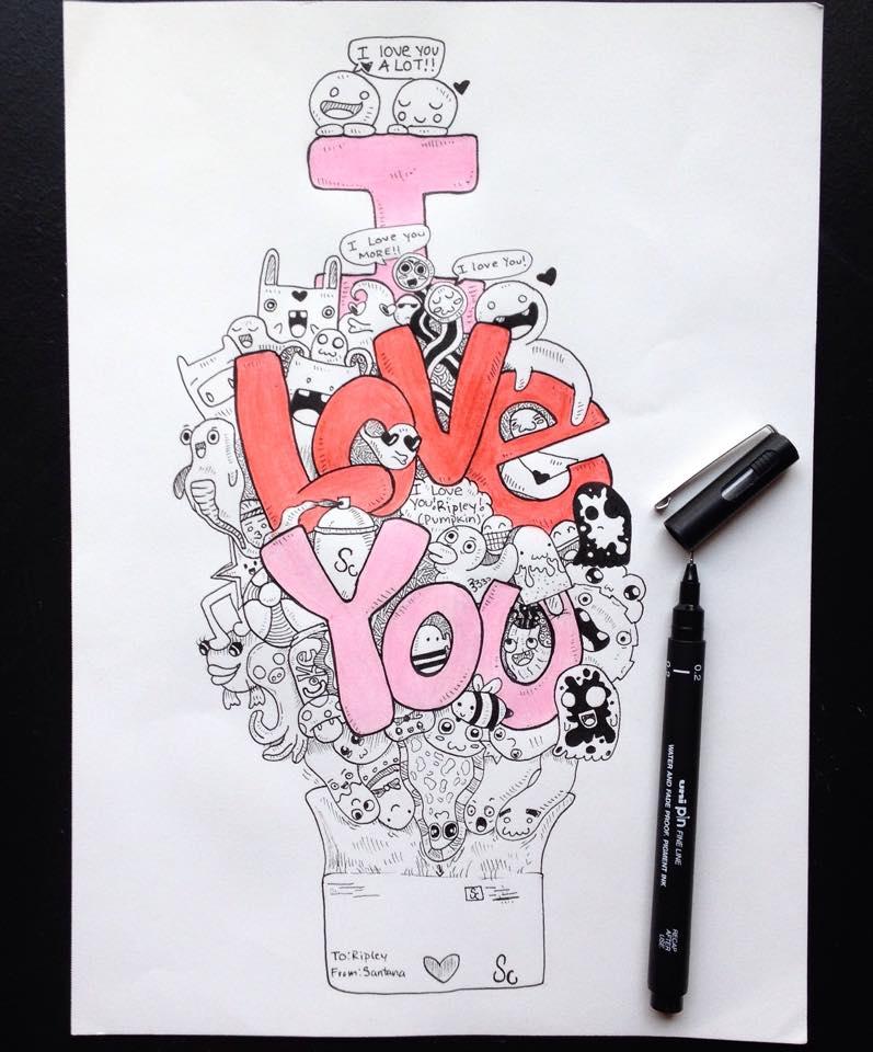 I love YOU by Santanacruz