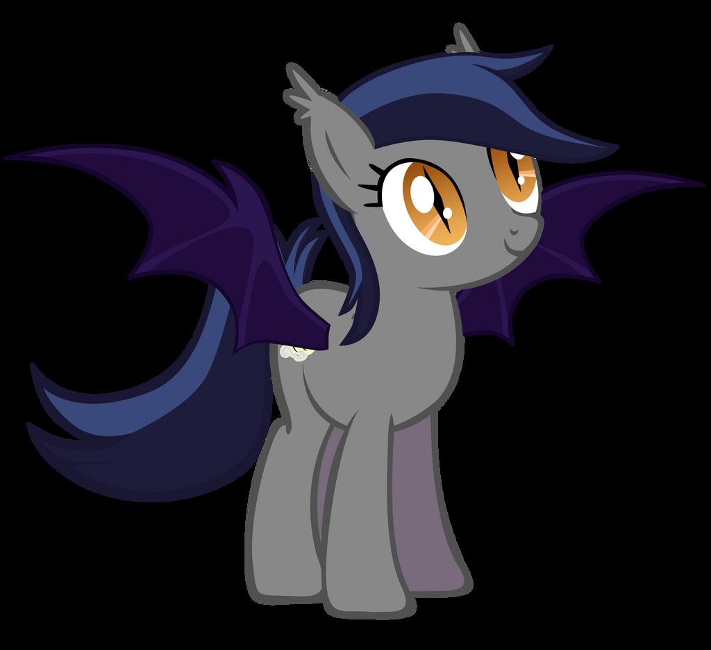 Echo the Bat Pony by Zee66