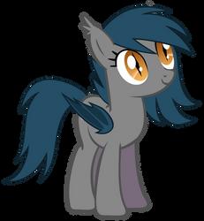 Speck the Bat Pony 2 by Zee66