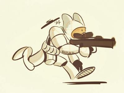 Wacom Sketch - Finn the Stormtrooper by oyetoons