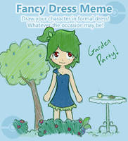 Dress Meme by musical-onigiri