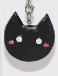 Kitty Pendant by musical-onigiri