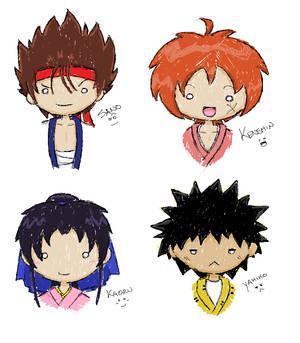 Kenshin Doodles