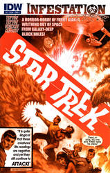 Star Trek:Infestation no.2 by JKSIII