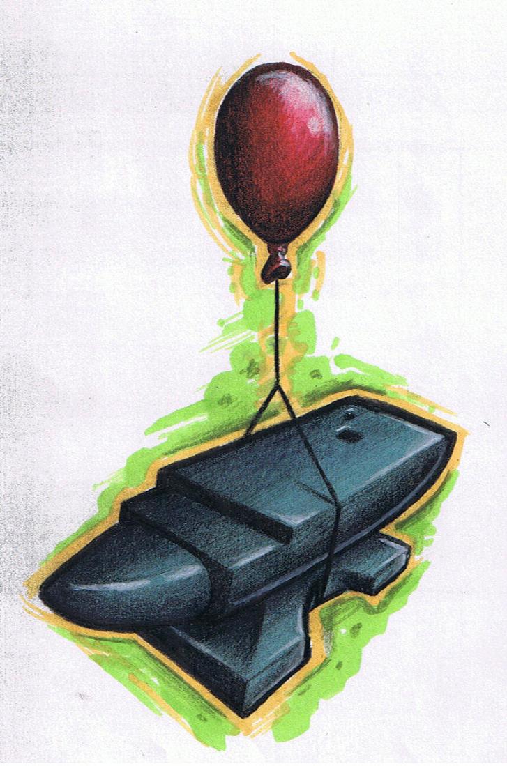 flying anvil by dertodesking on deviantart. Black Bedroom Furniture Sets. Home Design Ideas