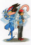 Ash Greninja - Our hearts are connected
