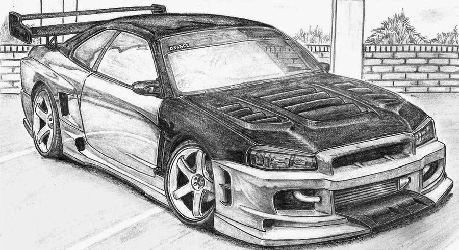 My Car Drawings by Darknessdragon1223 on DeviantArt