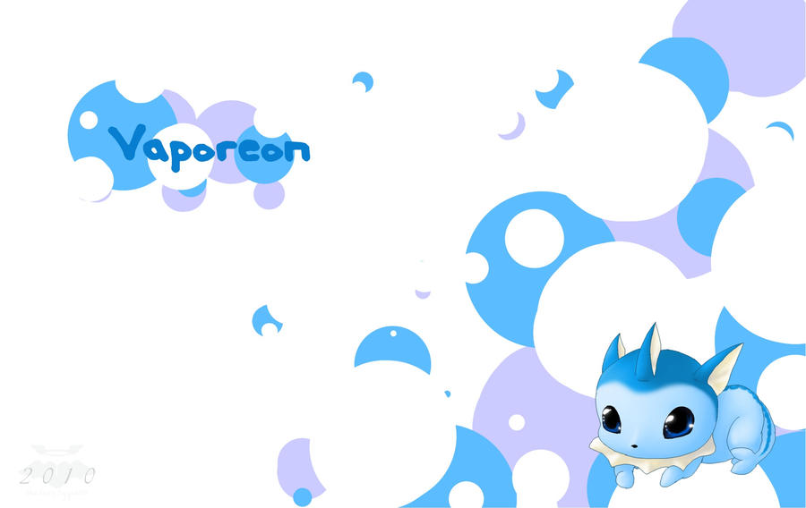 Vaporeon Wallpaper by TheLonelyQueen