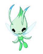 Pokemonpixel: Celebi by TheLonelyQueen