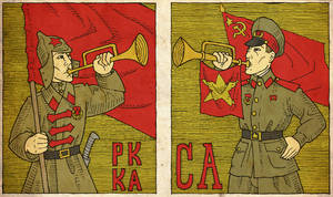 Red Army, Soviet Army by the-black-cat