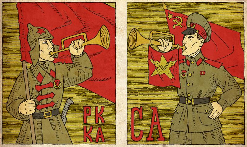 Red Army, Soviet Army