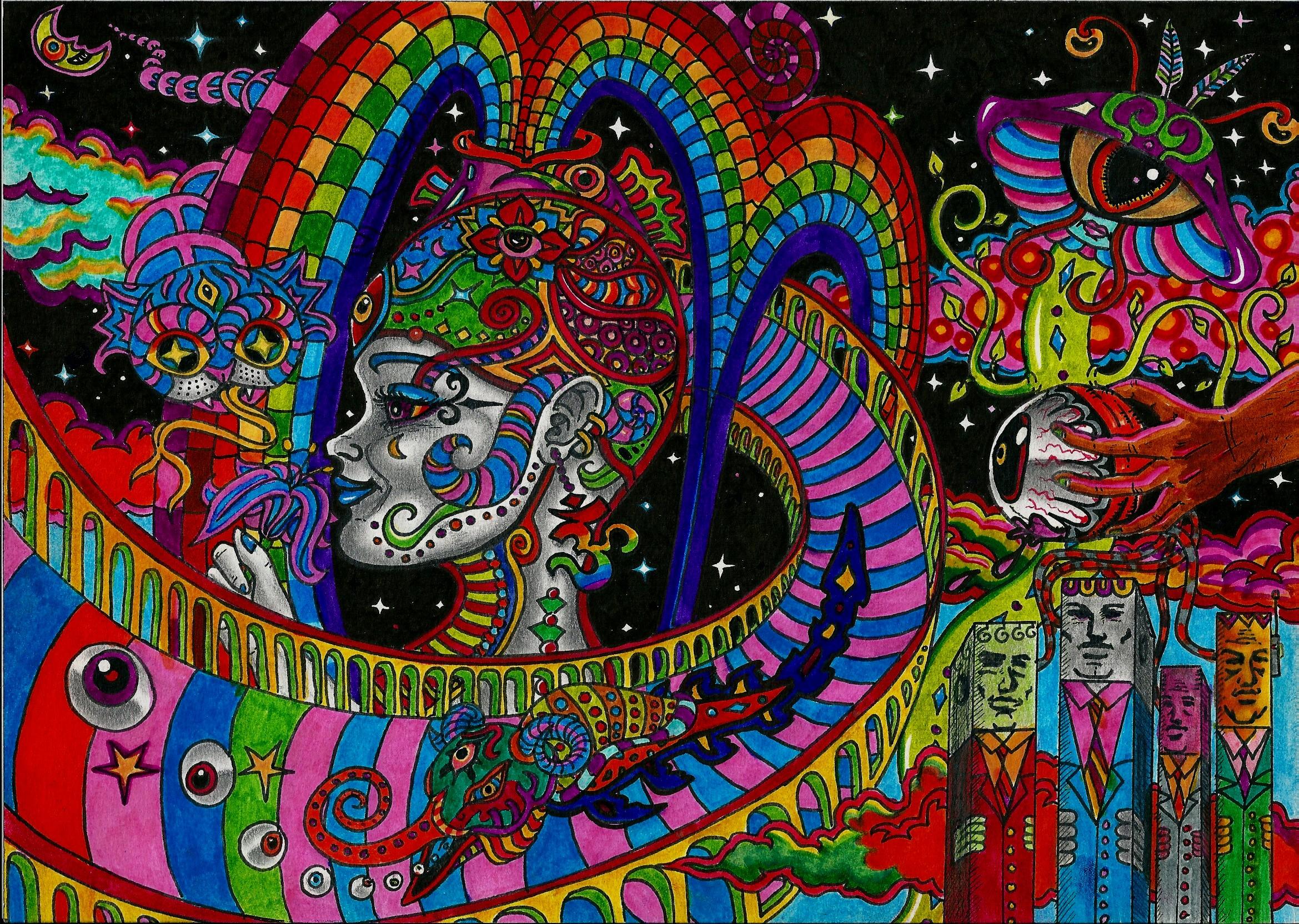 Psychedelic Art favourites by Jc-Sparkz on DeviantArt