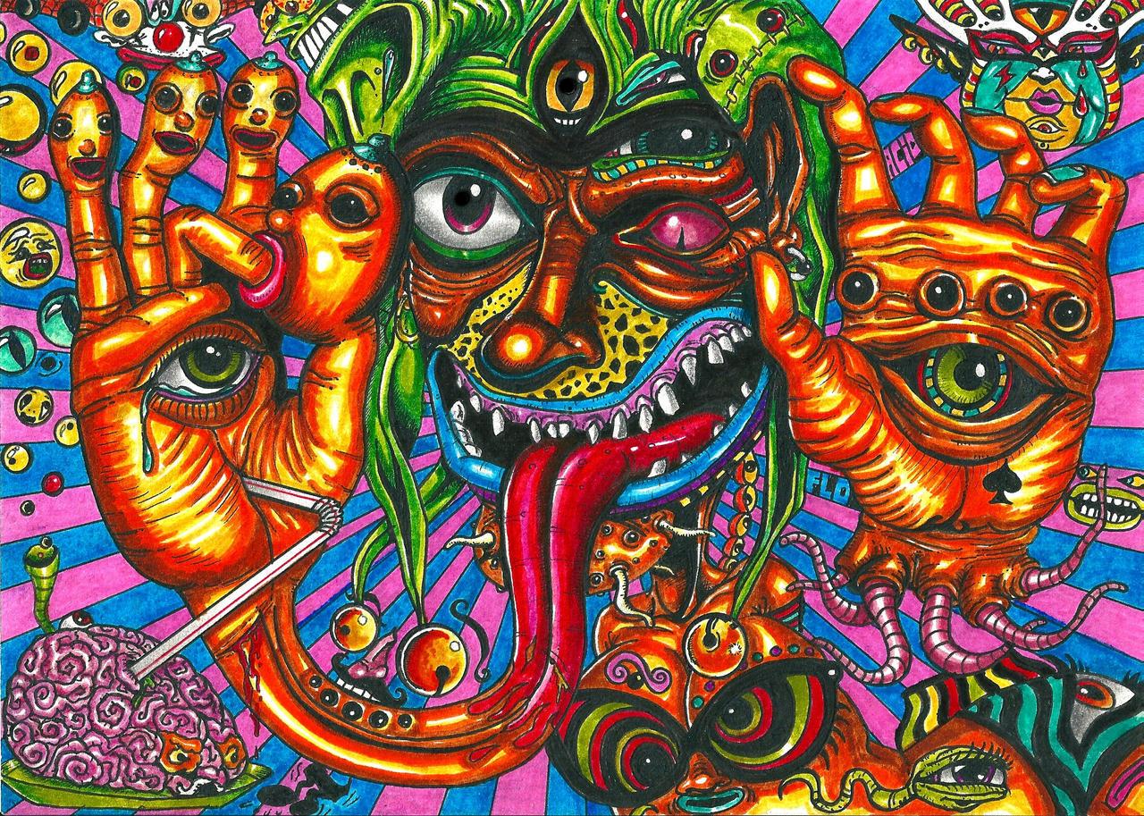 psyko joker by acidflo on deviantart
